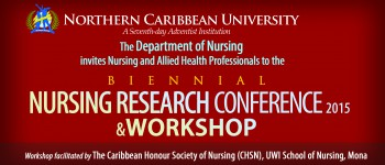 BIENNIAL NURSING RESEARCH CONFERENCE 2015