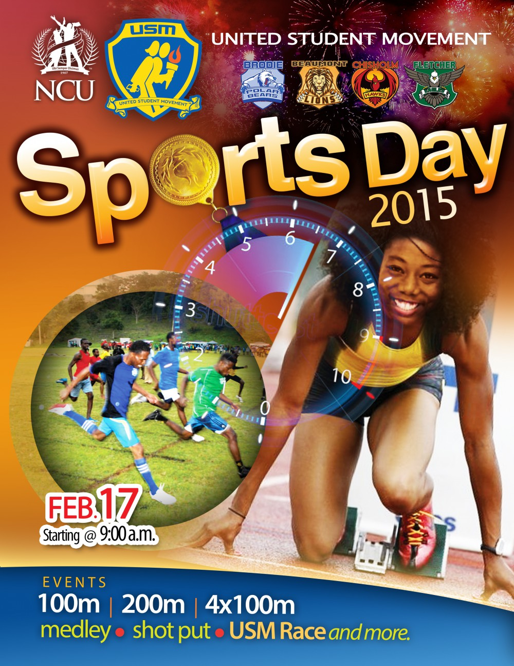 USM Sports Day 2015